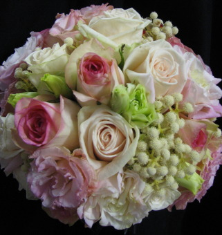 Bridal Hand Posy - Oct Pretty Pink Posy