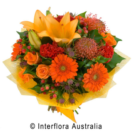 Lucy Bright Seasonal Anniversary Bouquet